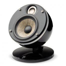 """Focal DOME FLAX SAT 1.0 coppia di diffusore compatto multiuso,nero, 2 vie, in alluminio, woofer """"FLAX"""", 100 W"""