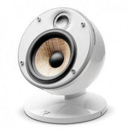 """Focal DOME FLAX SAT 1.0 coppia di diffusore compatto multiuso,bianco, 2 vie, in alluminio, woofer """"FLAX"""", 100 W"""