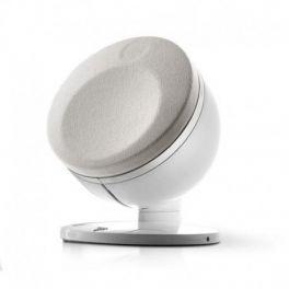 Focal DOME SAT 1.0 coppia di diffusori compatti, bianco, multiuso, 2 vie, in alluminio, 100 W