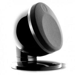Focal DOME SAT 1.0 coppia di diffusori compatti, nero, multiuso, 2 vie, in alluminio, 100 W