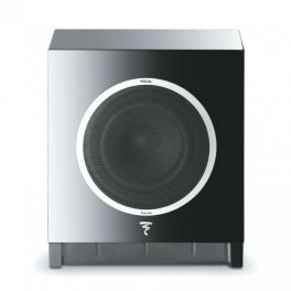 Focal Sub Air Subwoofer attivo ultracompatto wireless, Nero, amplificazione digitale BASH 150W