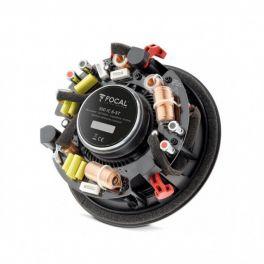 Focal 100 IC6 ST diffusore da incasso/parete, 2 vie coassiale dual voice, Bianco, woofer cono in Polyglass da 16,5 cm, 100W