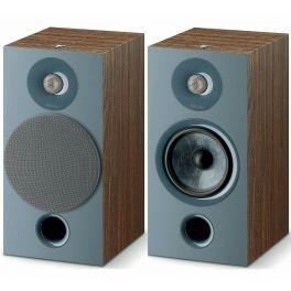 Focal chora 806 COPPIA diffusori passivi da stand, 2 vie, bass reflex, legno scuro, midwoofer, Slatefiber, tweeter concavo 120 W