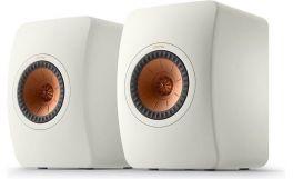 KEF LS50 Meta diffusori HiFi da scaffale Bianco Minerale Uni-Q con MAT (COPPIA)