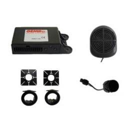 Gemini GEM-514 Kit 4 sensori parcheggio posteriore regolabili clip on o flush mount con buzzer