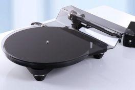 REGA Planar 8 NERO Giradischi HIFI triplo piatto in vetro, braccio RB880 alimentazione esterna
