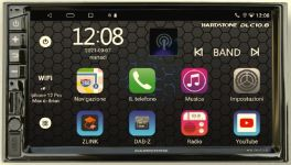 Hardstone HS-DLC10.8D autoradio 2 DIN Android 10.0, WIRELESS CAR PLAY, OCTA-CORE MTK 1.5GHZ - DAB+, WIFI e GPS modulo LTE 4G