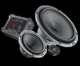 Hertz MPK 163.3 kit altoparlanti 3 vie 300W MP 25.3 + MP 70.3 + MP 165.3 + MPCX 3.3 + griglie