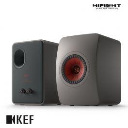 KEF LS50 Meta diffusori HiFi da scaffale Grigio Titanio Uni-Q con MAT (COPPIA)