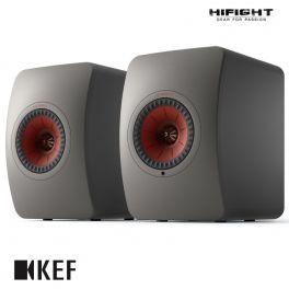 KEF LS50 Wireless 2 Grigio Titanio diffusori attivi wireless da scaffale HiFi controllo via APP (COPPIA)