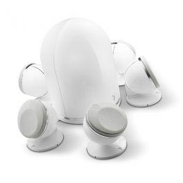 Focal DOME PACK 5.1 sistema composto da 5 diffusori Dome + Sub Dome, bianco, 100 W