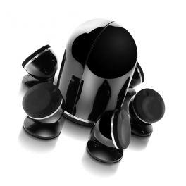 Focal DOME PACK 5.1 sistema composto da 5 diffusori Dome + Sub Dome, nero, 100 W