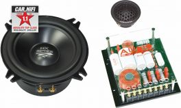 AUDIO SYSTEM HX 130 DUST EVO 2 kit altoparlanti 2 vie HING END 150W RMS MADE IN GERMANY