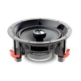 Focal 100 ICW6 diffusore da incasso 2 vie coassiale da 16,5 cm, tweeter a cupola inversa in alluminio