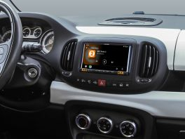 Alpine iLX-702-500L autoradio 2 DIN specifico per FIAT 500L, Apple CarPlay e Android Auto