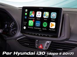Alpine ILX-F903-i30 Media Station 9'' per Hyundai I30  con DAB, Apple CarPlay e Android Auto