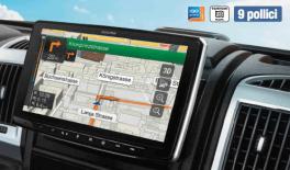 """Alpine INE-F904D autoradio Halo 9 GPS multimediale 9"""" 1 Din con DAB+"""