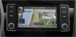 Pioneer AVIC-EVO1-G71-BBF autoradio per VW Golf VII finitura RODIO SCURO Apple CarPlay e Android Auto