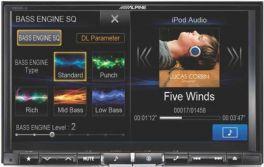 "Alpine X800D-U Media Station 2 Din 8"" DVD/DIVX/USB/MP3/WMA Navi Bluetooth DAB Ingresso HDMI *OCCASIONE ULTIMI PEZZI*"