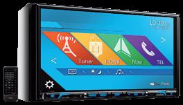"""CLARION NX706E Autoradio 2 DIN  DVD con Bluetooth, GPS NAVIGAZIONE INTEGRATA schermo 7"""" ALTISSIMA RISOLUZIONE"""