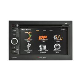 ZENEC Z-N720 autoradio 2 DIN con GPS, bluetooth DVD, USB mappe comprese