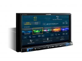 "Alpine INE-W997D Car media station 7"" Senza Meccanica Flac 4x50W BT & Navi integrati USB Audio/Video"