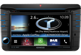 "Kenwood DNX516DABS Autoradio 7.0"" WVGA, SPECIFICO per VW, Skoda & Seat con Navigation System e radio DAB tuner"