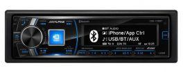 Alpine CDE-178BT Autoradio SintoCD/USB/AUX MP3  USB Post. Bluetooth ,4x50W, 3 Pre