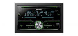 Pioneer FH-X840DAB Autoradio 2 DIN con Radio FM e DAB/DAB+  , CD, Bluetooth e USB
