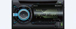 Sony WX-900BT Autoradio 2 DIN con bluetooth, CD, Sincronizzazione smartphone, USB e AUX