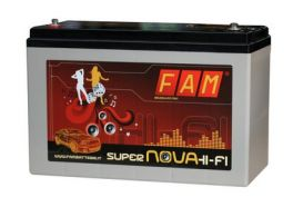 Batteria FAM120 SuperNova Hi-Fi 120Ah professionale