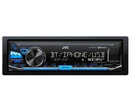 JVC KD-X341BT Autoradio 1 DIN  Digital Media Receiver con Bluetooth®, USB frontale e AUX