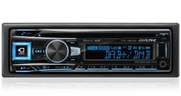 Alpine CDE-196DAB Sinto CD Advanced Sound Tuning e ricevitore DAB