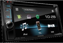 """Kenwood DDX4017DAB Autoradio 2 DIN 6.2"""" WVGA DVD Receiver con DAB e Bluetooth"""