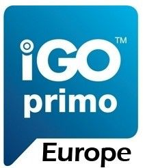 PHONOCAR NV988  Microcard Mappa di navigazione iGo Primo EUROPA