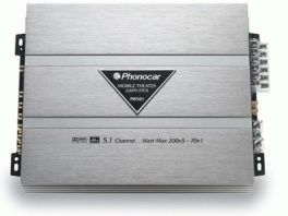 Phonocar PH501 Amplificatore Home Theater 6 Canali con Dolby Digital