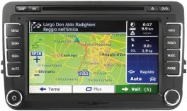 Phonocar VM111 Media Station 7'' VW POLO V 14-  Android Auto Bluetooth GPS con mappe opzionali