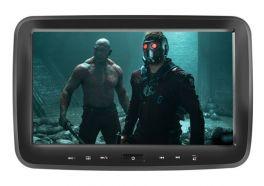 """Phonocar VM149 Monitor poggiatesta 10"""" con lettore DVD/SD/USB"""