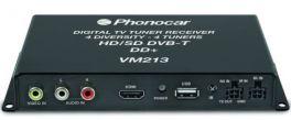 PHONOCAR VM213 SINTONIZZATORE TV DVB-T HD 4TUNERS DD+