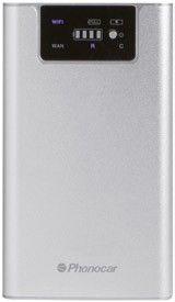 Phonocar VM313 3G WI-FI Router Power bank DLNA Media sharing