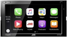 "JVC KW-M730BT Digital Media Receiver 2 DIN  6.8"" Apple CarPlay, Android Auto, iDataLink Maestro Ready"