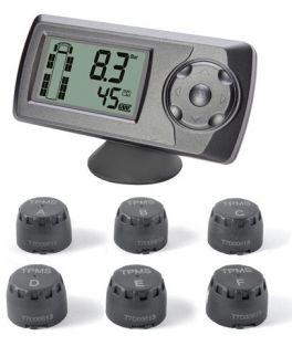 Phonocar VM363 Kit 6 sensori per monitoraggio pressione gomme WIRELESS per motrici autotreni