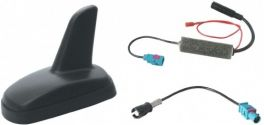Antenna tetto a pinna amplificata per VW-Seat-Skoda 03- Phonocar 08006