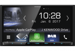 Kenwood DMX7017DABS autoradio 2 din 7 pollici Bluetooth, radio DAB