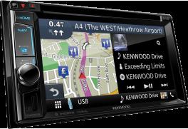 "Kenwood DNX5170DABS Autoradio 7.0"" WVGA, SPECIFICO per VW, Skoda & Seat con Navigation System e radio DAB tuner"