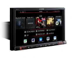 Alpine X802D-U Media Station 2 Din 8'' Navi, Android Auto, Apple CarPlay, Bluetooth, DAB e Ingresso HDMI