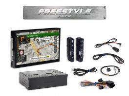 Alpine X902D-F Media Station 9'' Freestyle Navi, Android Auto, App CarPlay e Bluetooth