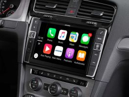 "Alpine i902D-G7 Media Station 9"" per VW Golf 7 con Bluetooth, Android Auto e Apple CarPlay"