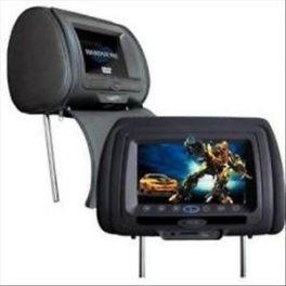 HARDSTONE HS HM7DD + HS HM7DM coppia poggiatesta per auto monitor 7'' lettore DVD USB SD