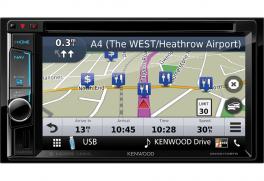 Kenwood DNX5170BTS Media Station 2 DIN 6.2 pollici AV receiver con Bluetooth e Smaprtphone control